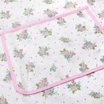 Rosy Life Baskılı Baskılı Mutfak Önlüğü 77x53 Cm Pembe - Beyaz
