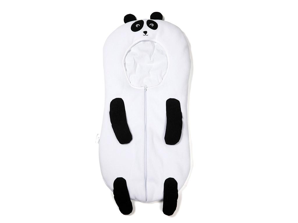 Panda Havlu Bebe Tulum 80x34 Cm Siyah - Beyaz