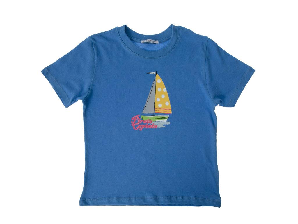 Sailer Pamuklu Erkek Çocuk Çocuk Pıjama Takımı 3-4 Yaş Mavi