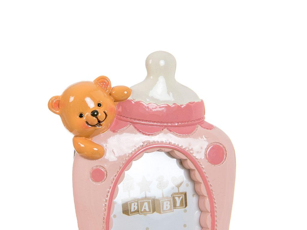 Teddy Bear Çerçeve 9x2,2x13,9 Cm Pembe