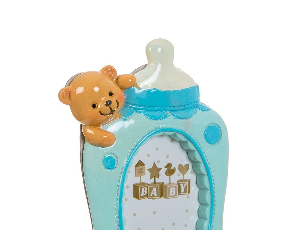 Teddy Bear Çerçeve 9x2,2x13,9 Cm Mavi