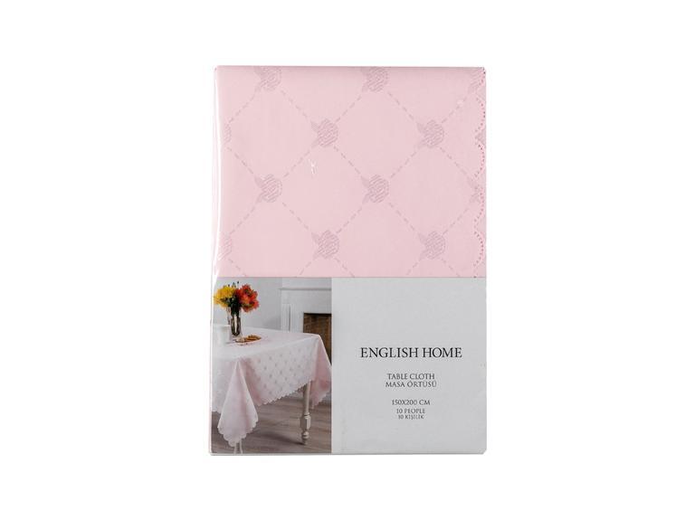 Winter Rose Masa Örtüsü 150x200 Cm Pembe