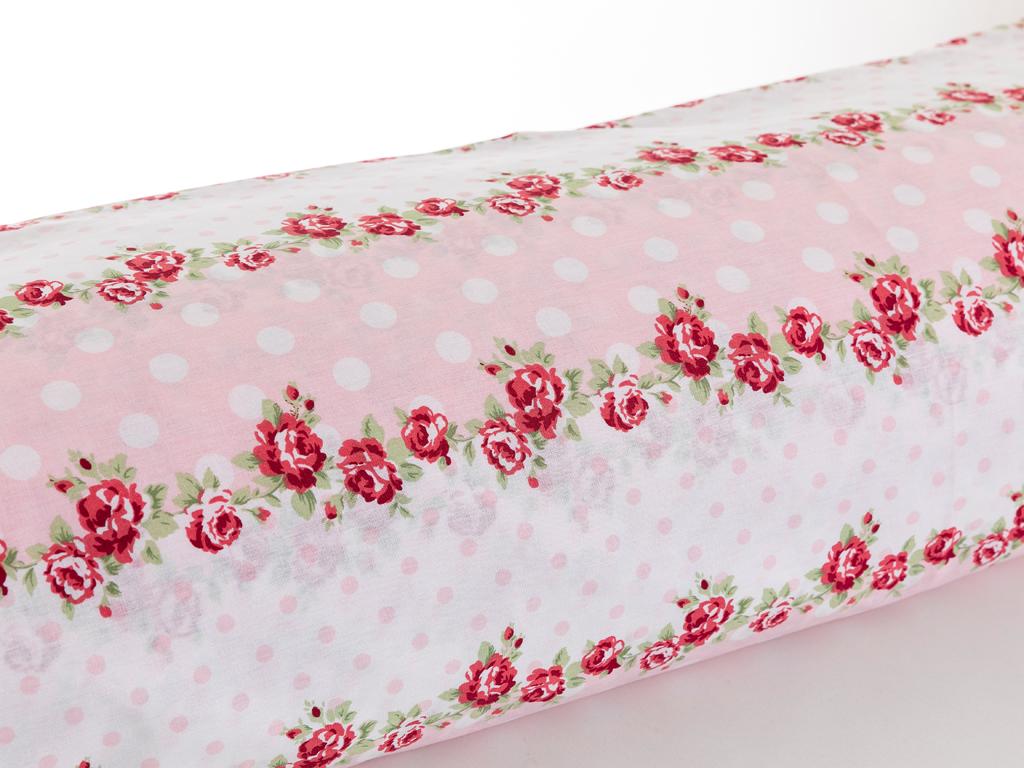 Allure Rosa Pamuklu Çift Kişilik Nevresim 200x220 Cm Kırmızı