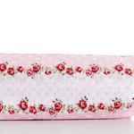 Allure Rosa Pamuklu Çift Kişilik Nevresım 200x220 Cm Kırmızı