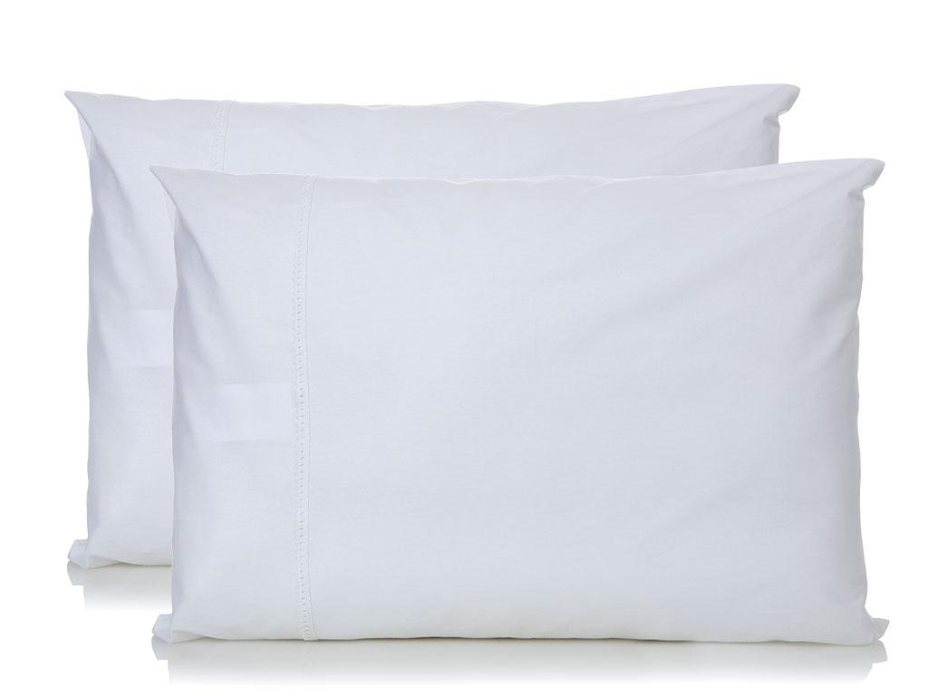 Mina Kopanakili 2'li Yastık Kılıfı 50x70 Cm Beyaz