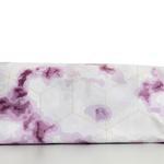 Fancy Marble Pamuklu Tek Kişilik Nevresim 160x220 Cm Mürdüm