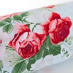 Rosejoy Pamuklu Tek Kişilik Nevresım 160x220 Cm Kırmızı