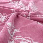 Rose Coquette Pamuklu Çift Kişilik Battanıye 200x220 Cm Pembe