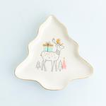 Let İt Snow Bone China Pasta Tabağı 17x16,5x2 Cm Kırmızı