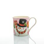 Let İt Snow Bone China Kupa 300 Ml Kırmızı