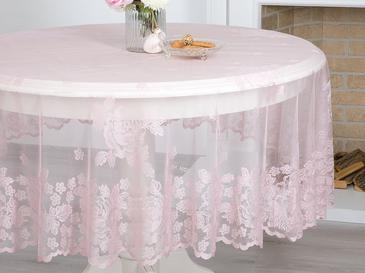 Glam Rose Örme Masa Örtüsü 180r Gül Kurusu