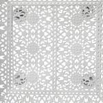 Anita Metal Kare Tepsı 24x24 Cm Beyaz