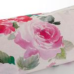 Flower Art Pamuklu Çift Kişilik Nevresim 200x220 Cm Pembe