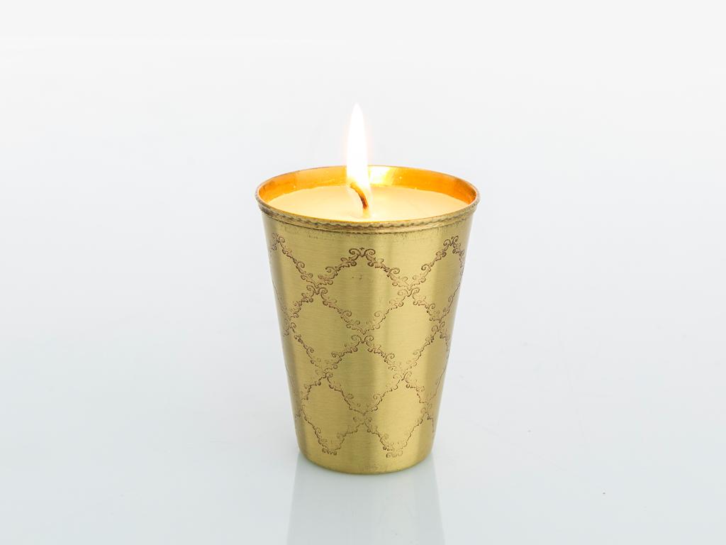 Elegance Mum 7x7x9 Cm Gold