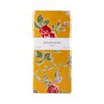Rose Viva Pamuklu 2'li Yastık Kılıfı 50x70 Cm Koyu Sarı