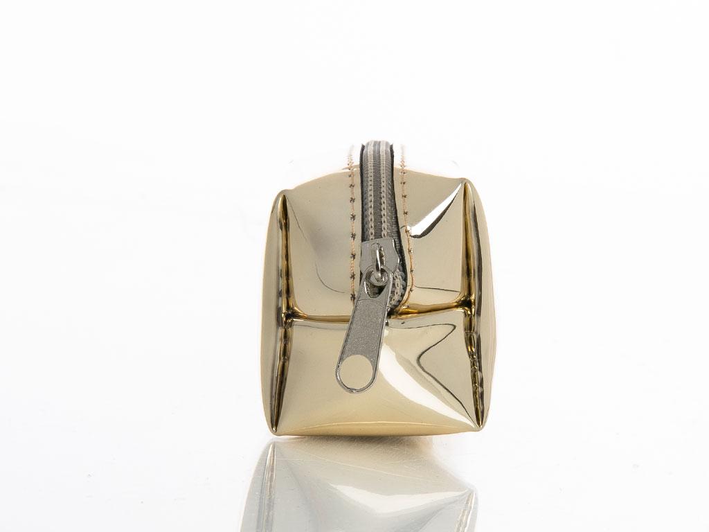 Shiny Bozuk Para Cuzdanı 9x7,5 Cm Gold