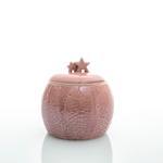 Snowland Stoneware Dekoratıf Kutu 12,8x9,8x20,2 Cm Pembe