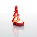 Jingle Stoneware Mumluk 7x6,5x12 Cm Kırmızı
