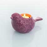 Rose Luster Stoneware Mumluk 6x9x16,7 Cm Mor