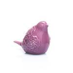 Rose Luster Stoneware Bıblo 8,1x11,5x13,7 Cm Mor