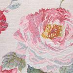 Cheering Rose Goblen Kırlent Kılıfı 45x45 Cm Açık Pembe