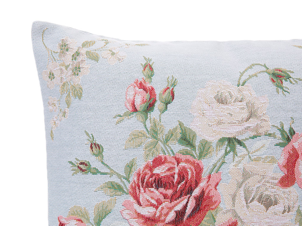 Rose Joy Goblen Kırlent 45x45 Cm Açık Mavi
