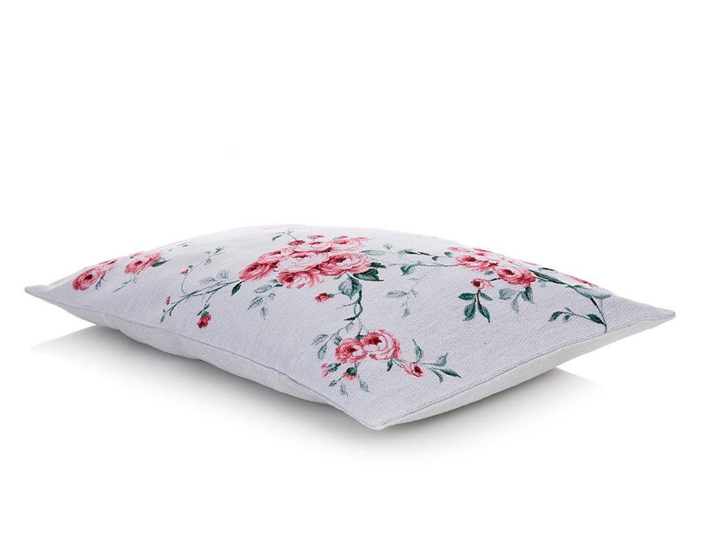 Chichi Roses Goblen Kırlent 35x50 Cm Pembe