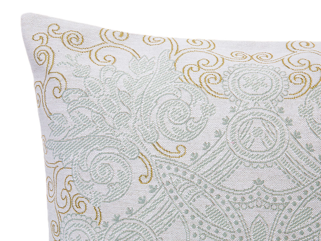Elegance Goblen Kırlent 45x45 Cm Gold