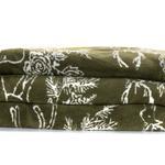 Rosy Deers Pamuklu Çift Kişilik Battanıye 200x220 Cm Yeşil