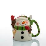 Funny Snowman Dolomite Tekli Kupa 325 Ml Beyaz