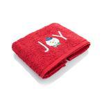 Joy Nakışlı Paketli Hediyelik Havlu 40x60 Kırmızı