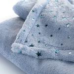 Glam Stars Ultrasoft Bebe Battanıye 90x120 Cm Mavi