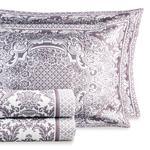 Sparkle Rose Cover Çift Kişilik Yatak Örtüsü Takımı 250x260 Cm Mor