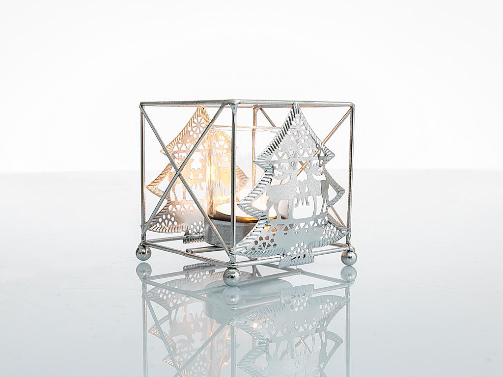 Celebration Mumluk 10,5x9x9,5 Cm Gümüş