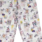 Girl Pamuklu Kız Çocuk Pijama Takımı 4-5 Yaş Pembe