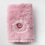 Majestic Rose Nakışlı El Havlusu 30x45 Cm Pembe