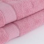 Pure Basic Banyo Havlusu 70X140 Cm Açık Gül Kurusu