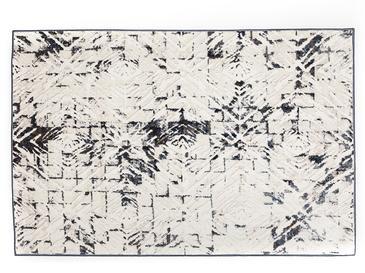 Winter Stripe Dokuma Halı 120x180 Cm Beyaz - Gri