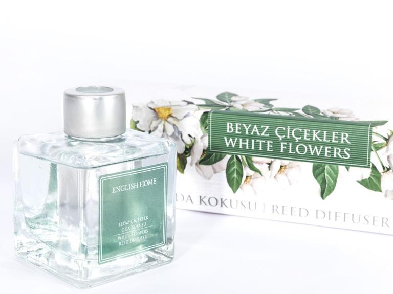 Beyaz Çiçekler Kokulu Çubuk 100 Ml Beyaz
