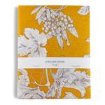 Luxury Garden Pamuklu Tek Kişilik Nevresim 160x220 Cm Sarı