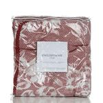 Ruby Rose Jakarlı Çift Kişilik Yatak Örtüsü Takımı 230x250 Cm Bordo