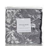 Ruby Rose Jakarlı Tek Kişilik Yatak Örtüsü Takımı 150x230 Cm Koyu Mor