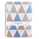 Angle Pamuklu Tek Kişilik Nevresım 160x220 Cm Mavi