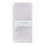 Stripe New Pamuklu 2'li Yastık Kılıfı 50x70 Cm Lila