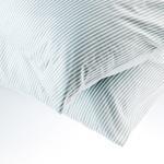 Stripe New Pamuklu 2'li Yastık Kılıfı 50x70 Cm Mavi