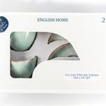 Tulia Porselen 2'li Çay Fıncanı Takımı 210 Ml Açık Mint