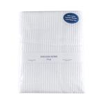 Düz Pamuklu Çift Kişilik Pıke 200x230 Cm Beyaz