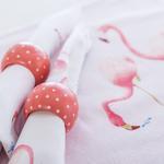Flamingos Baskılı Servıs Setı . .