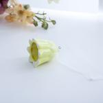 Flower Askılı Aksesuar 4,8x4,6x5,6 Cm Sarı