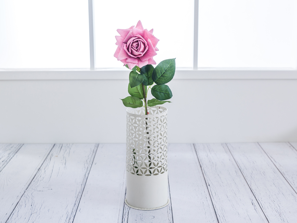 Garden Rose Yapay Çiçek 74 Cm Gül Kurusu
